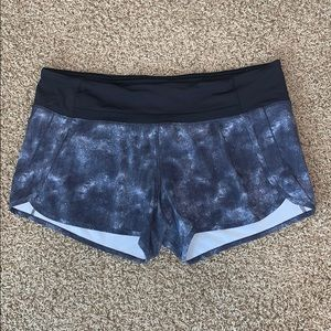 "Lululemon 4"" Inseam Running Shorts Sz 12!"